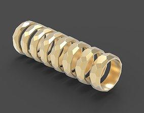 3D print model Rock ring