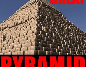 column THE GREAT PYRAMID - 3d model