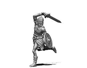 viking raider 35 mm scale - 3d print model
