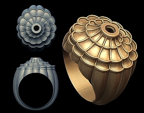 3D print model Carrera Afrodita Ring