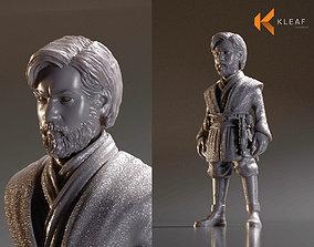 3D printable model Obi Wan Kenobi 3dprinted