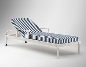 3D model Striped Lounge Chair