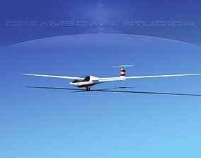 3D model Glaser Dirks DG200 15Mtr Sailplane V02