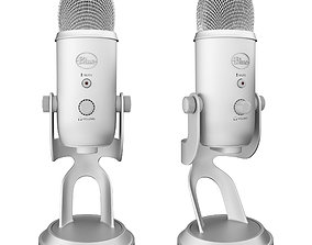 USB-microphone Blue Yeti 3D model