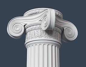 3D Ionic Column 002