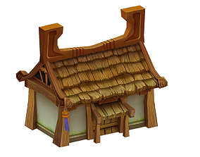 Low mold games - houses 3D model