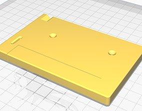 MSX cartridge shell - non-Konami dowel 3D print model 1