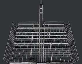 3D asset BBQ Grid