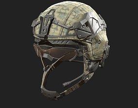 3D model Helmet military Scifi