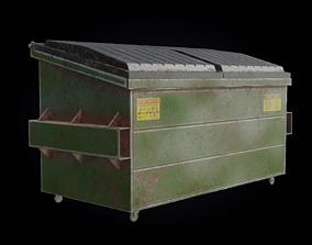 3D model Dumpster PBR