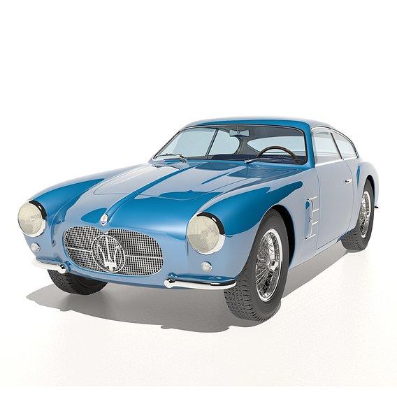 Maserati A6G Zagato no 2124