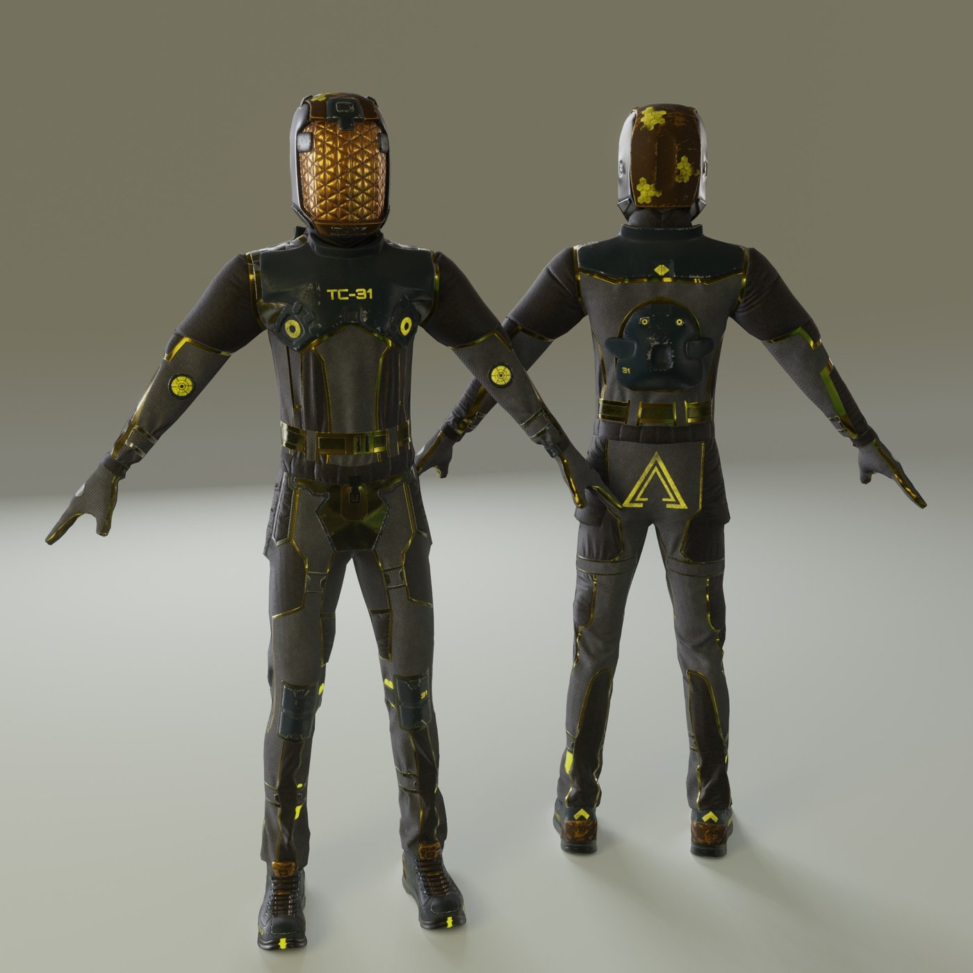 Spacesuit - 2 3d model