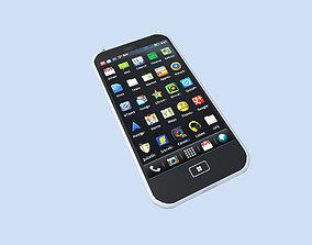 3D modern smartphone