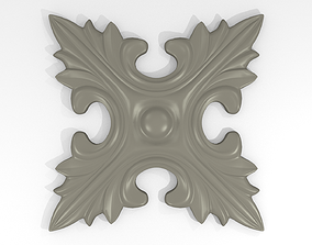 Rosette 002 CNC Print
