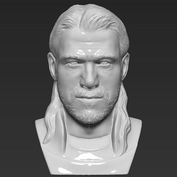 Thor bust for 3D printing