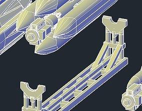3D printable model Revell B1B Lancer CSRL Holder or 2
