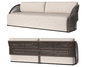 3D OUTDOOR PAVONA SOFA 2145 mm 2021 by RESTORATION