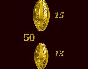 Para ball jewelery gold printable plain studded 50