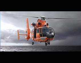3D Eurocopter AS 365 US Coast Guard