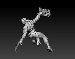 3D printable model Street Fighter Vega
