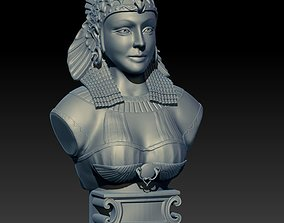 sculpture Cleopatra for printing and 3D printable model 2