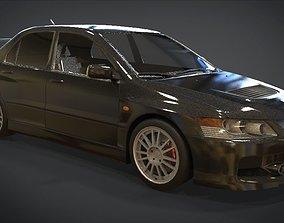 3D model realtime Mitsubishi Lancer Evolution IX
