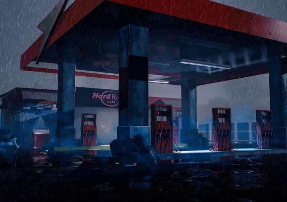 gas-filling-station