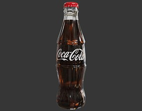 Coke Glass Bottle 3D