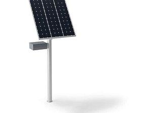 Modern Renewable Solar Power Collector 3D model