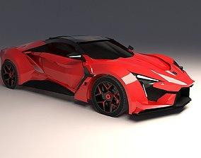 W Motors Fenyr Hyper Car 3D print model supercar