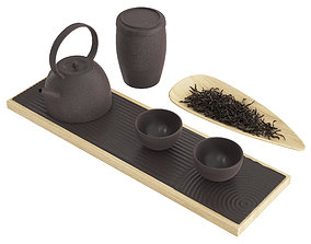 3D model Chinese Tea Ceremony Set cup