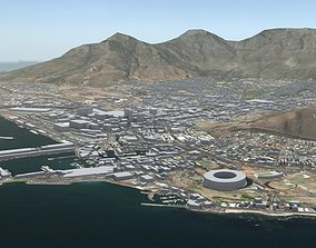 3D model Cape Town South Africa