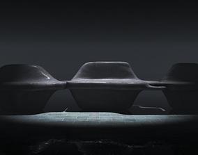 Parametric module bench 3D model