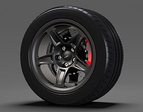 Dodge Challenger SRT Demon 2017 wheel 3D