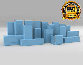 Package Box Collection 3D