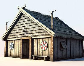 3D model Viking House 1