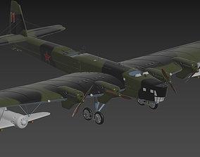 Tupolev TB3 3D