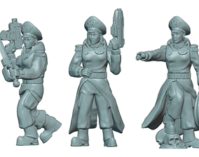 3D printable model Commissar Builder Kit