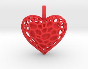 3D print model Inner Heart Pendant