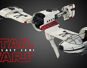 Star Wars Resistance Ski Speeder 3D model