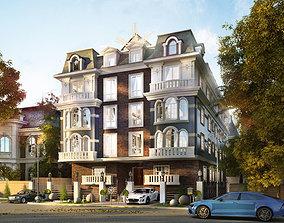 3D model Europe Residential