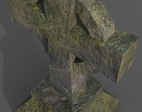 Tombstone Type 7 3D model