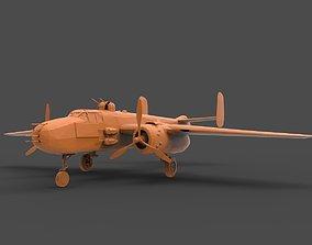 B-25J 3D printable model