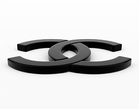 3D chanel Chanel Logo
