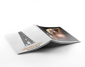 Magazine 3D opened
