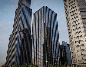 SKYSCRAPER CITY BUILDING 06 3D asset