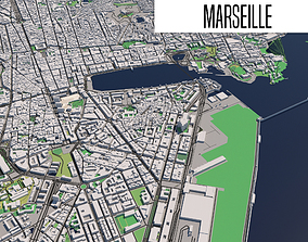 Marseille 3D model