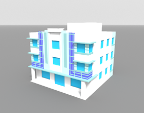 Voxel Miami Hotel 4 3D