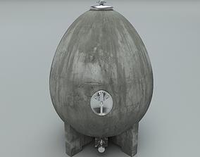 Wine Egg Tank 3D model