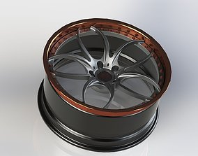 Forged Wheels 3D model